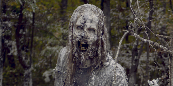 the walking dead snow zombies