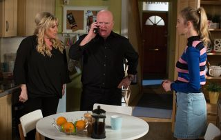 EastEnders Phil Mitchell Sharon Mitchell and Louise Mitchell