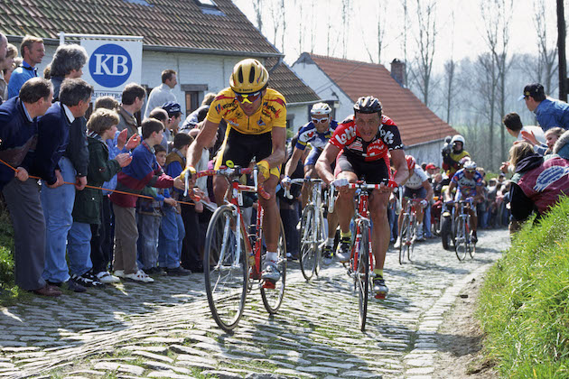 How watching 25 years of Tour of Flanders footage is helping scientists study climate change