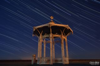 Star Trails and Bandstand Connor Hicks