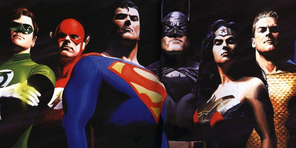 Justice League Alex Ross artwork