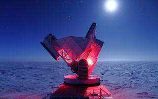 south pole telescope 1920