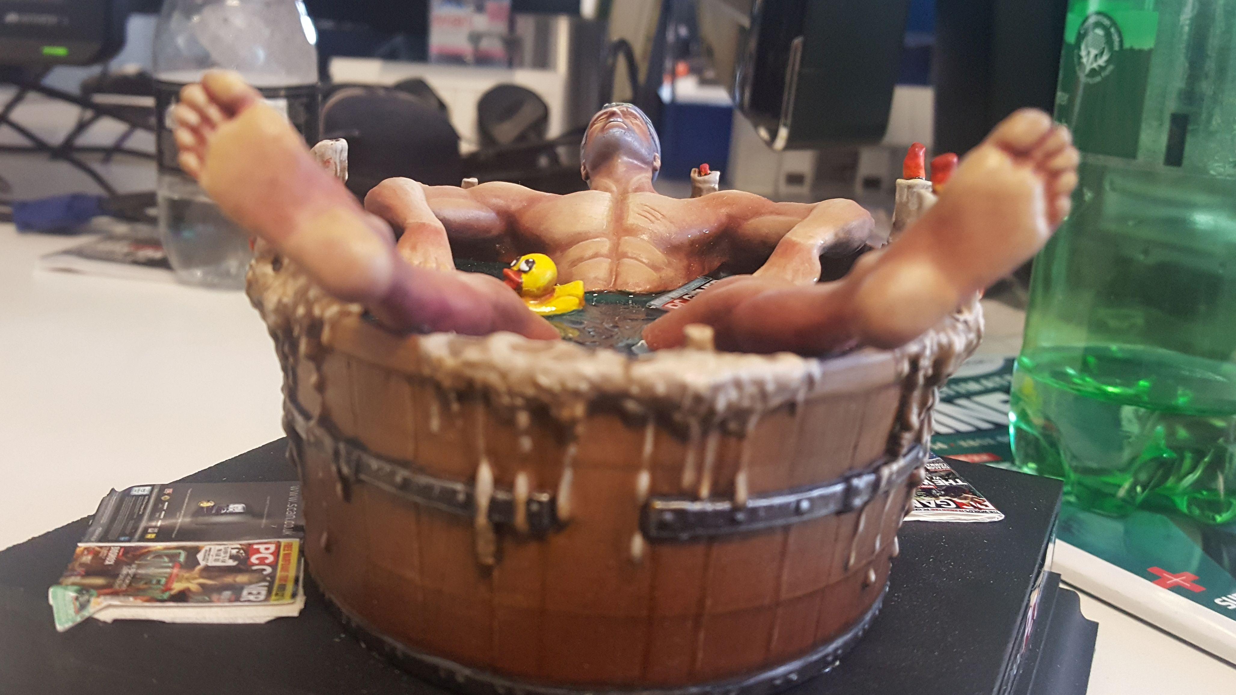Resultado de imagen de geralt bathtub