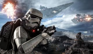 Stormtroopers attack in Battlefront