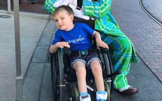 Five-year-old Reed Havlik has a rare brain condition called vanishing white matter disease. People with the condition are particularly vulnerable to stresses, including fright, that can worsen symptoms or even lead to death.