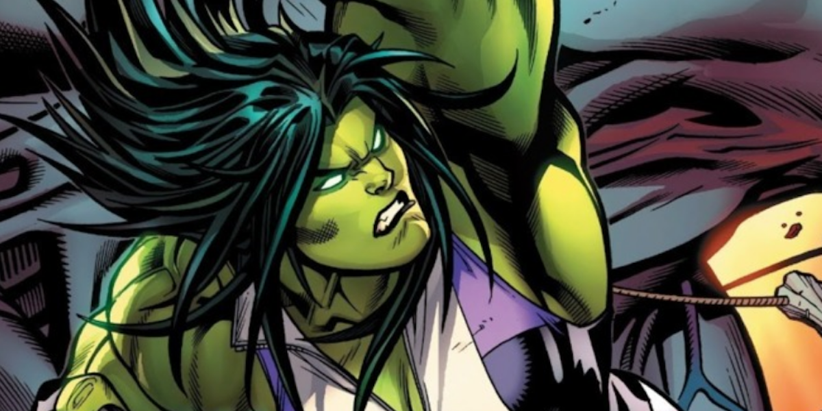she hulk marvel comics art