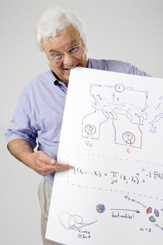 Robert B. Laughlin was awarded the Nobel Prize in physics in 1998,