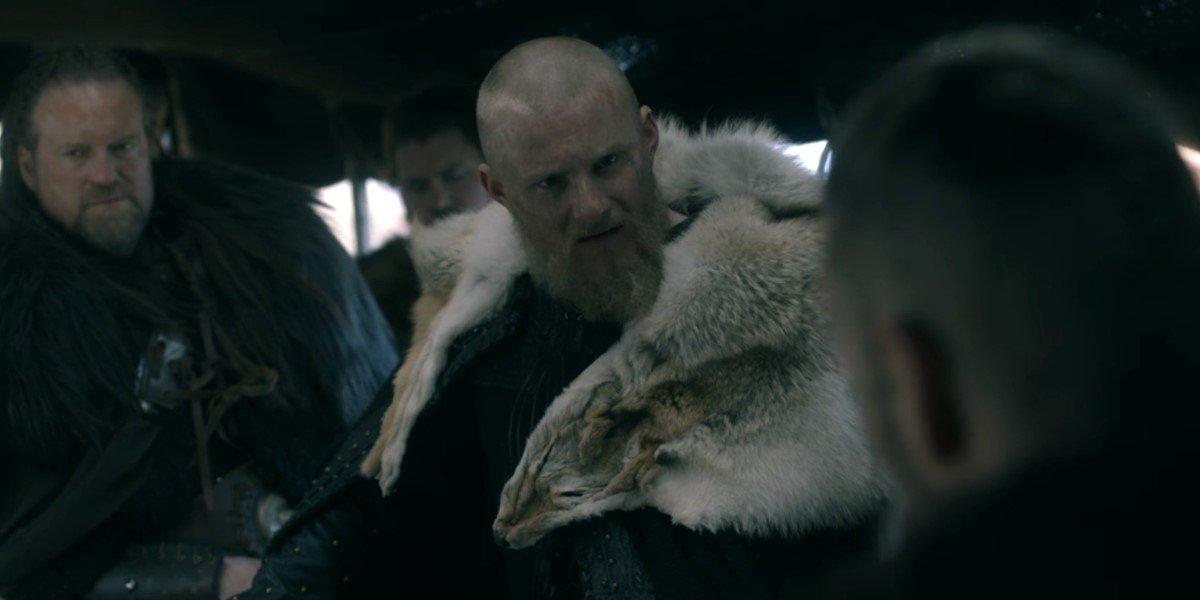 alexander ludwig's bjorn on vikings season 6