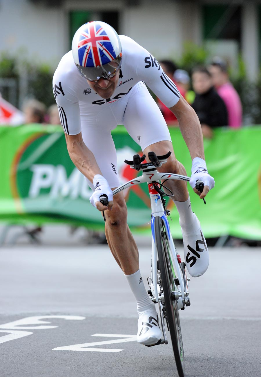 Bradley Wiggins, Tour de Romandie 2011, prologue