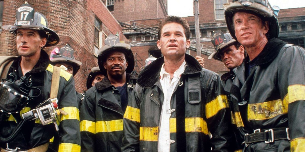 The Backdraft cast