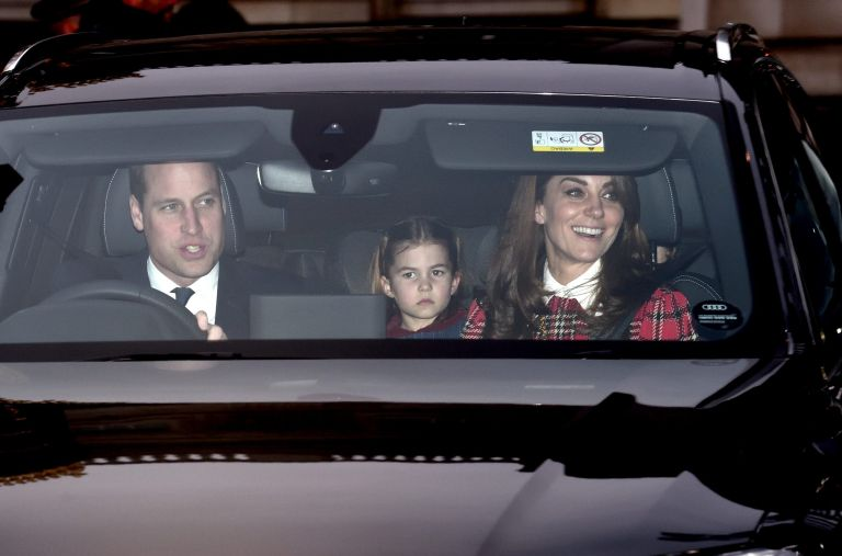 duchess of cambridge and family at christmas lunch