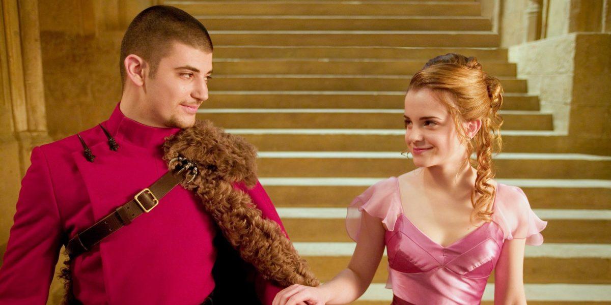 Hermione and Viktor Krum