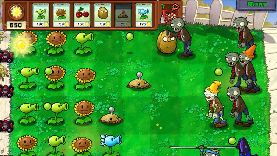 Image result for PLANTS VS. ZOMBIES