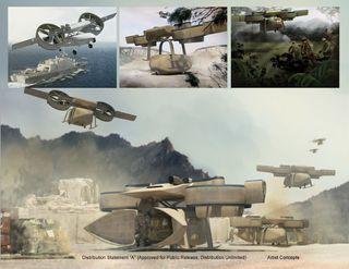 DARPA ARES Drones