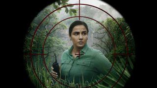 Vidya Balan in the film Sherni