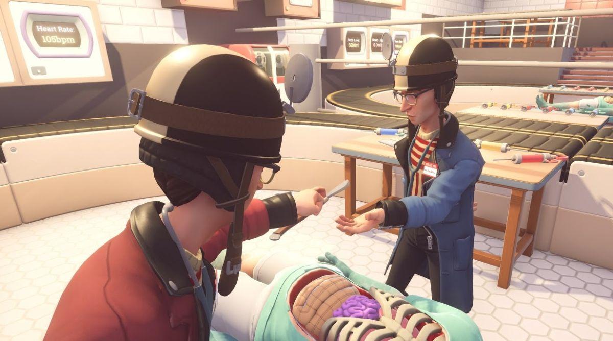 Playtest Surgeon Simulator 2 this weekend