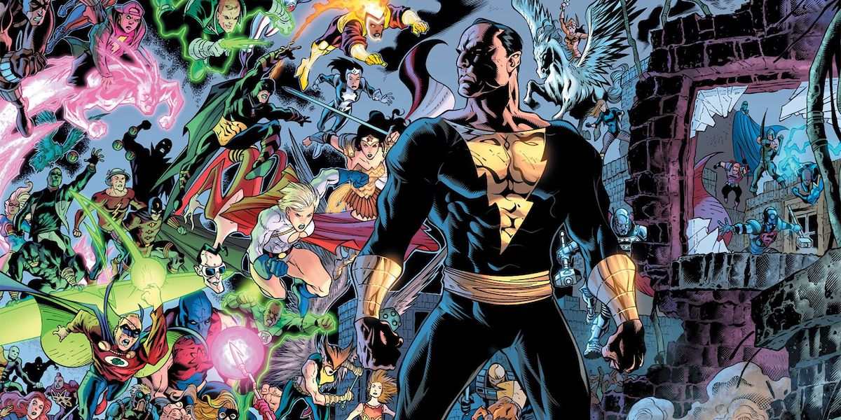 Black Adam and the Justice Society of America