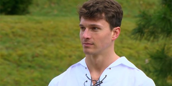 Connor Saeli in Scotland on The Bachelorette 2019 Hannah season ABC