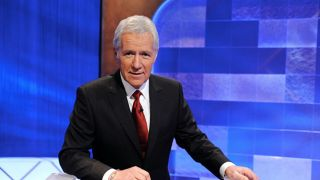 Alex Trebek in Jeopardy!