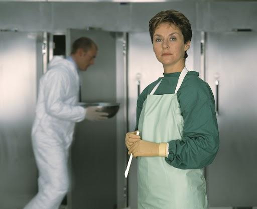 Amanda Burton as Sam Ryan in Silent Witness