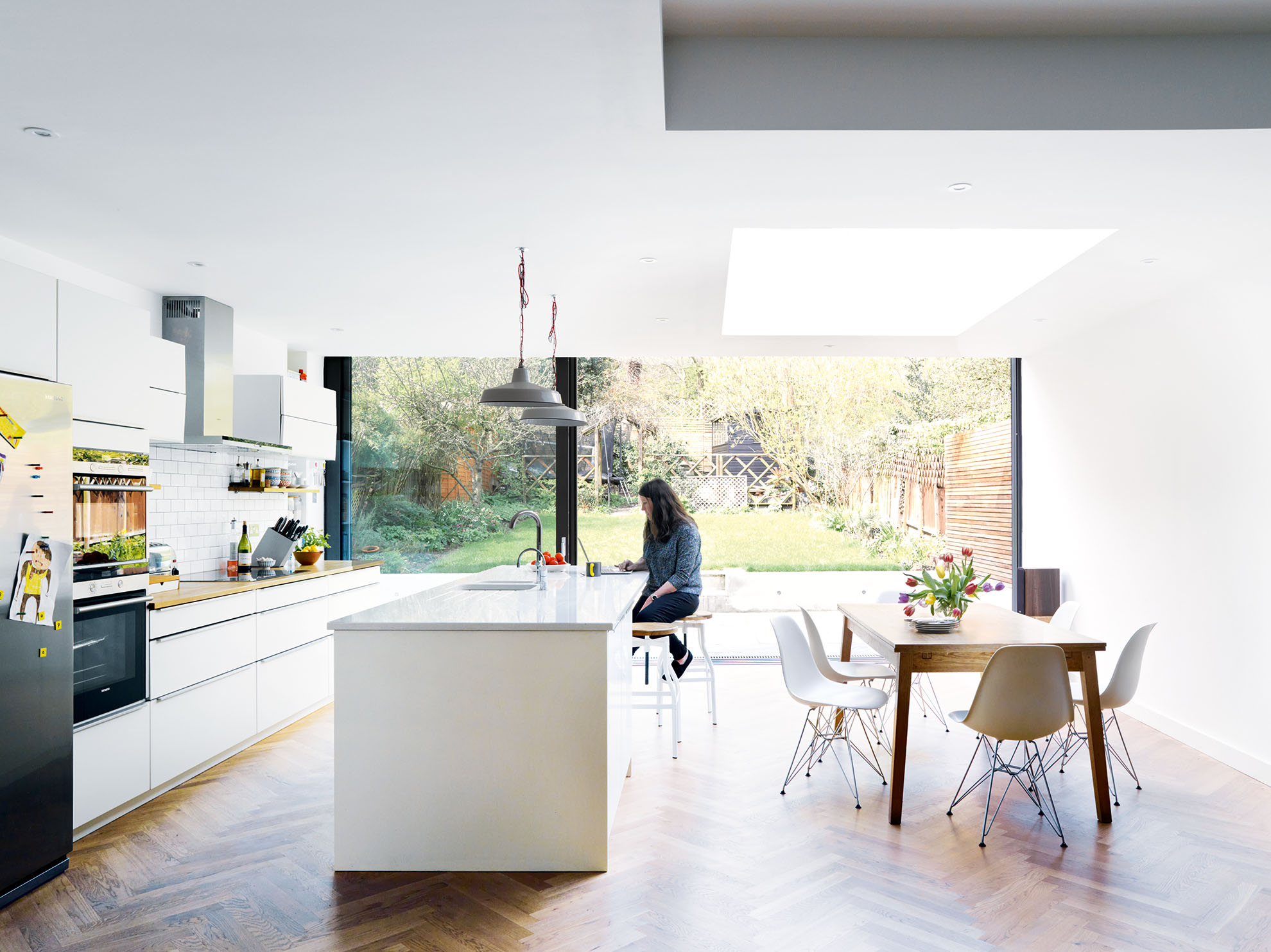 Kitchen case study: a light-filled open-plan kitchen diner and ...