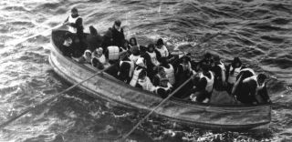 The last lifeboat from the Titanic