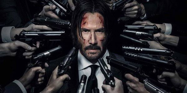 John Wick Keanu Reeves guns lots of guns