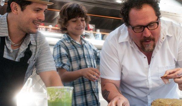 Chef John Leguizamo Jon Favreau bonding in the food truck
