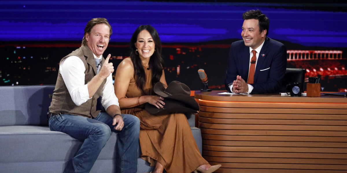 The Tonight Show Starring Jimmy Fallon Chip Gaines Joanna Gaines Jimmy Fallon NBC