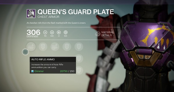 Queen's Guard Plate