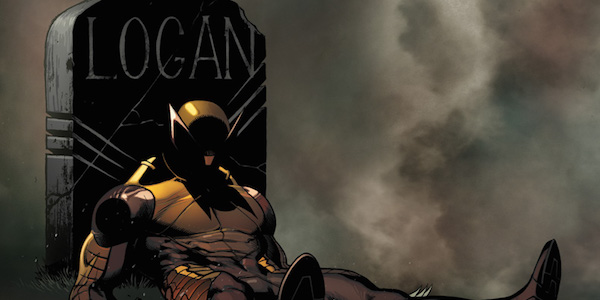 Wolverine dead tombstone Marvel Comics