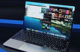 MacBook with Apple Silicon concept
