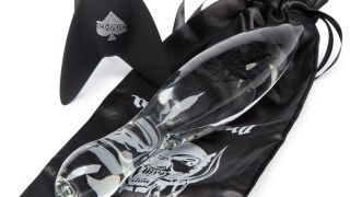 A picture of the Motorhead glass dildo