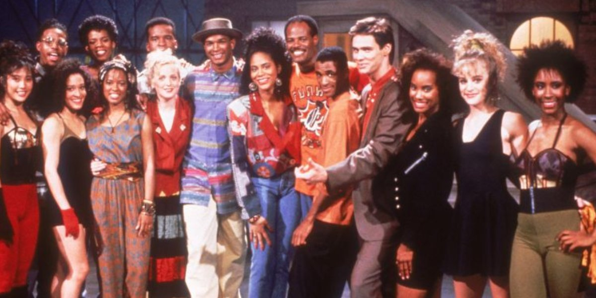 The In Living Color cast