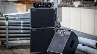 Harley Benton has introduced a range of affordable solid-state bass amp heads, combos and cabinets.