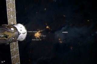 Wildfire Smoke from Space