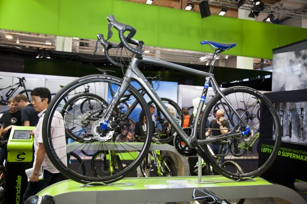 Cannondale are getting behind road disc brakes