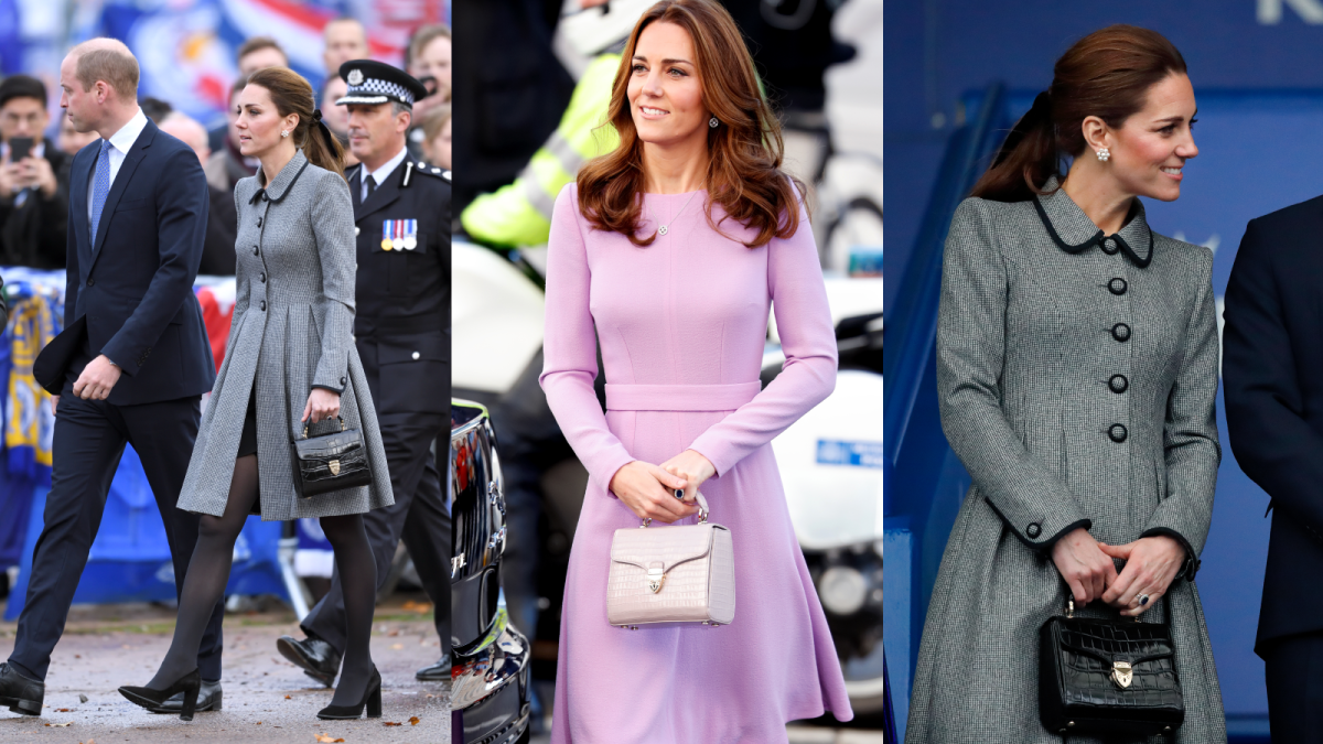 The Duchess of Cambridge's favourite Aspinal handbag now has £119 off!