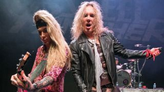 Steel Panther on stage