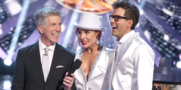 Dancing With the Stars Season 27 2018 Tom Bergeron Sharna Burgess Bobby Bones ABC
