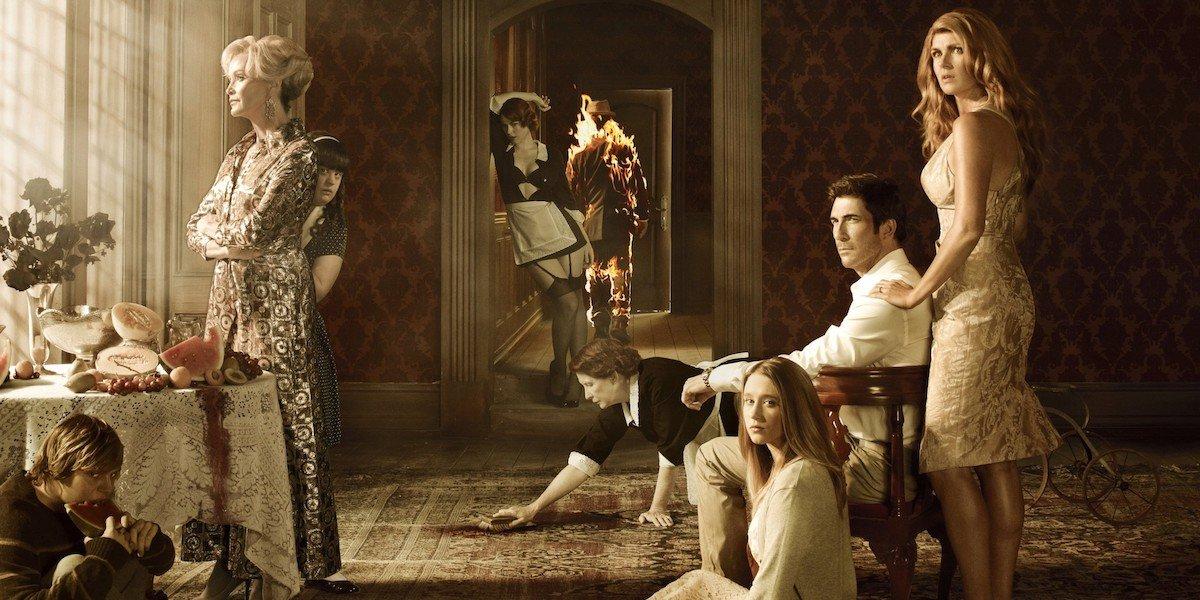 american horror story murder house cast season 1