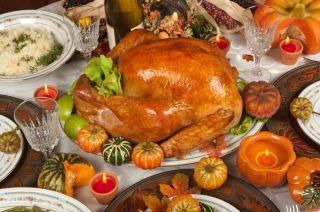 turkey dinner, thanksgiving