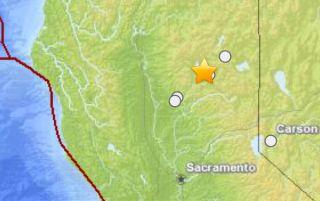 Greenville earthquake epicenter