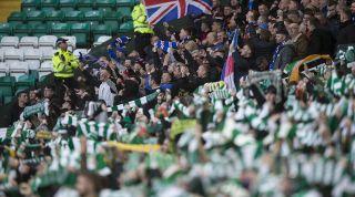 Celtic Rangers fans