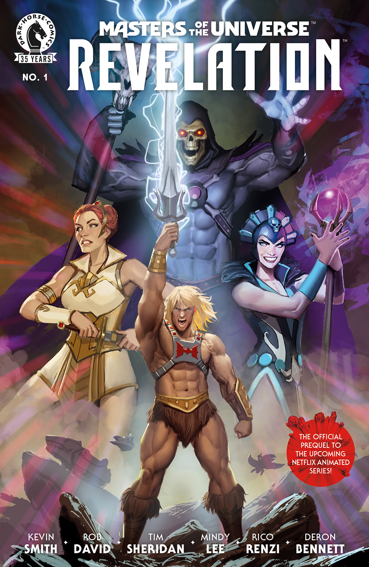 cover of Masters of the Universe: Revelation #1