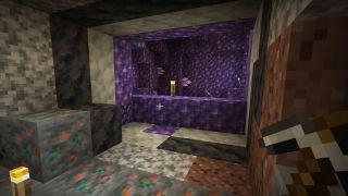 Minecraft 1.17 Amethyst