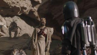 Tusken Sign Language in The Mandalorian season 2