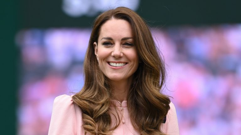 Kate Middleton, Duchess of Cambridge attends day 13 of the Wimbledon Tennis Championships