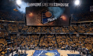 Digital Signage for the Indiana Pacers by ANC