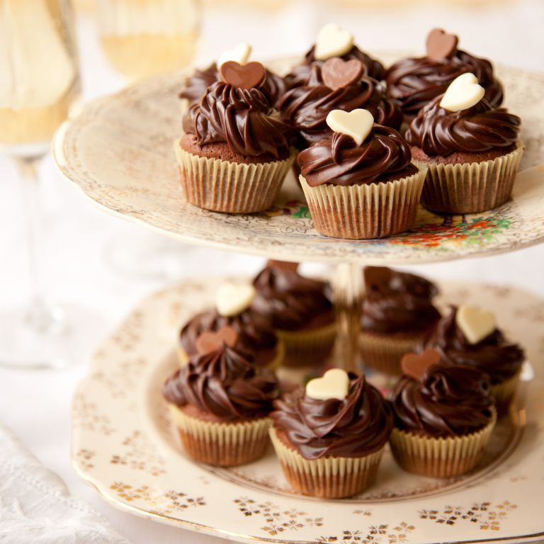 Mini brownie cupcakes recipe-baking recipes-recipe ideas-woman and home